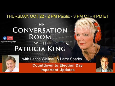 The Conversation Room with Patricia King, Lance Wallnau and Larry Sparks