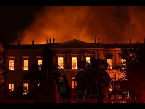 Ngọn lửa thiêu rụi bảo tàng lớn nhất Brazil
