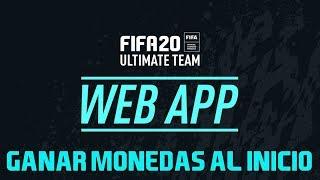 COMO GANAR MONEDAS AL INICIO DE FIFA 20 - WEB APP - TODO LO QUE DEBES SABER PARA FORRARTE 🤑😱 !!