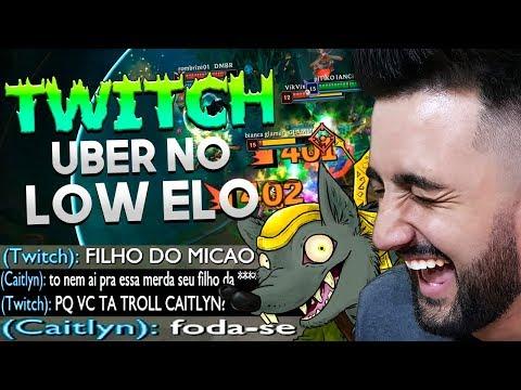 O MAIS NOVO META DO LOL! *TWITCH UBER JUNGLE E YUUMI* - League of Legends | Festinha do Rodil
