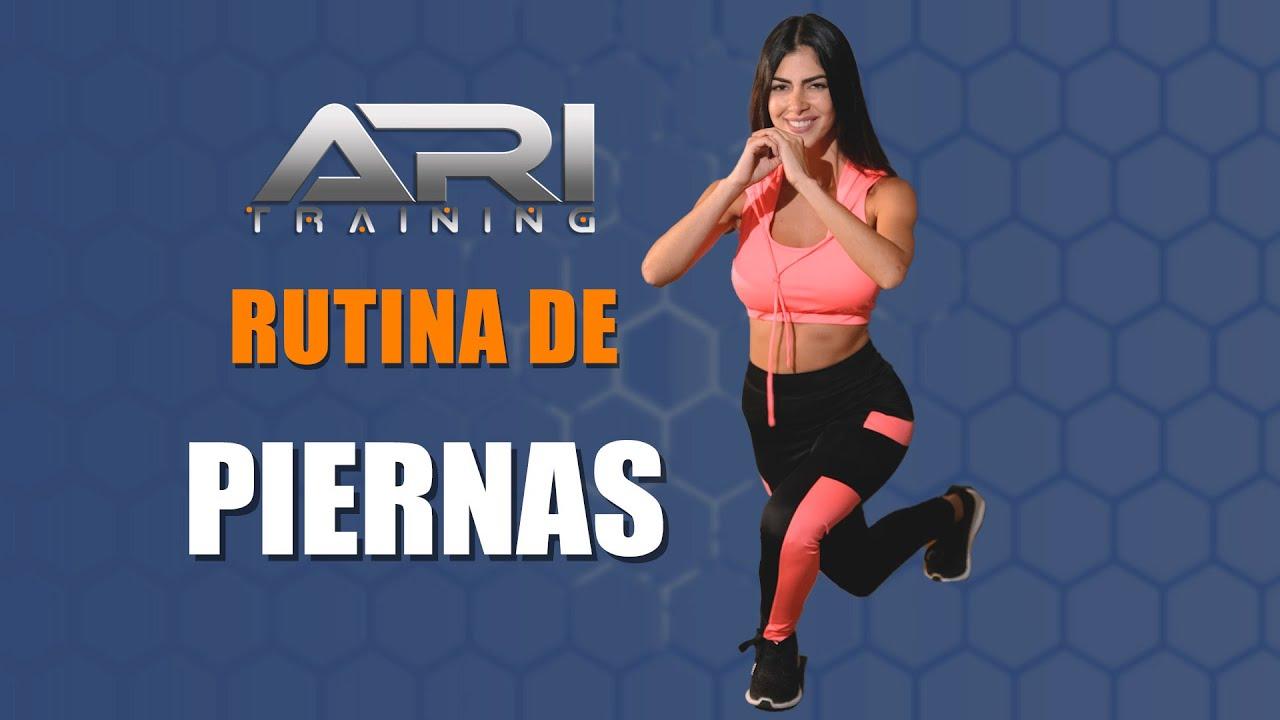 Rutina de PIERNAS – Ari Training