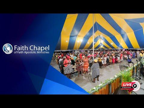 July 25, 2021 Sunday First Service [Bishop Garfield Daley]