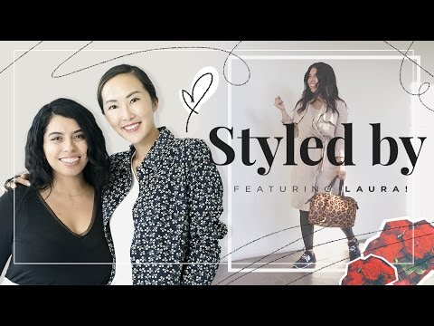 Petite & Curvy Girls Spring Outfits ft. Laura | Styled by Chriselle - UCZpNX5RWFt1lx_pYMVq8-9g