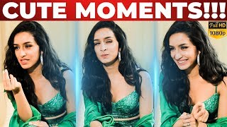 Shraddha Kapoor Cute Moments! | Thangamey |  Naanum Rowdy Dhaan