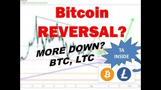 Bitcoin Litecoin Technical Analysis - 8/18/19 Reversal or More Downside?
