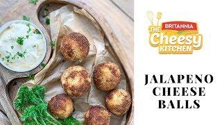 Jalapeno Potato Cheese Balls Recipe - Cheesy Kitchen Recipes by Archana's Kitchen