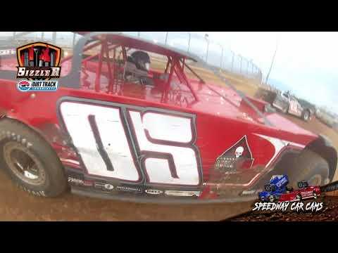 #05 Carson Ruark - 602 Late Model - Carolina Sizzler 7-18-21 - In-Car Camera - dirt track racing video image