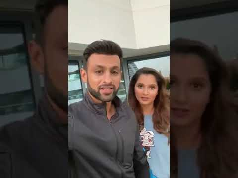 Shoaib Malik And Sania Mirza Wishes Happy New Year To Everyone