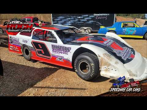 #9 Brady Lear - Crate Late Model- 6-5-21 Rockcastle Speedway - dirt track racing video image