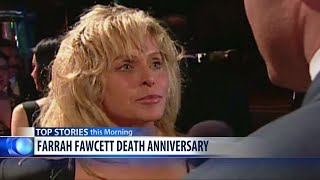 Farrah Fawcett died 10 years ago