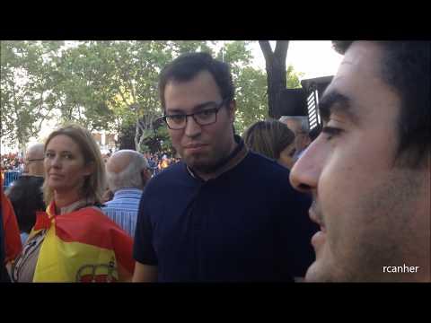 UN CATALÁN Y UN MADRILEÑO HABLAN CLARO EN EL DÍA DE LA FIESTA NACIONAL DE ESPAÑA