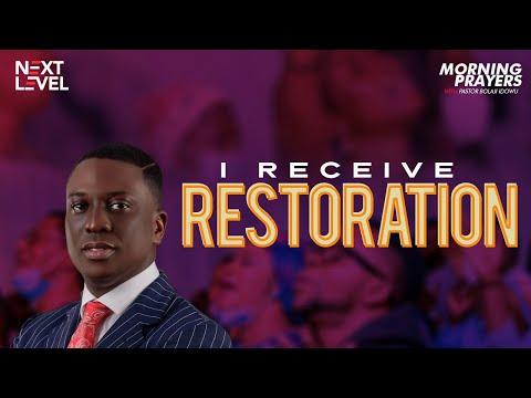 Next Level Prayers  I Receive Restoration  Pst Bolaji Idowu  19th August 2021