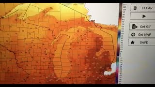 Michigan weather forecast for August 22, 2019