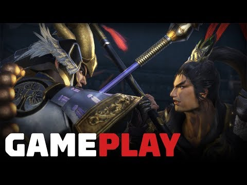 18 Minutes of Warriors Orochi 4 Gameplay - UCKy1dAqELo0zrOtPkf0eTMw