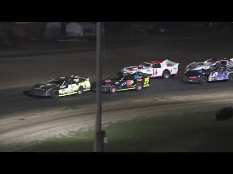 Pro Stock A-Feature at Crystal Motor Speedway, Michigan on 07-03-2021!! - dirt track racing video image
