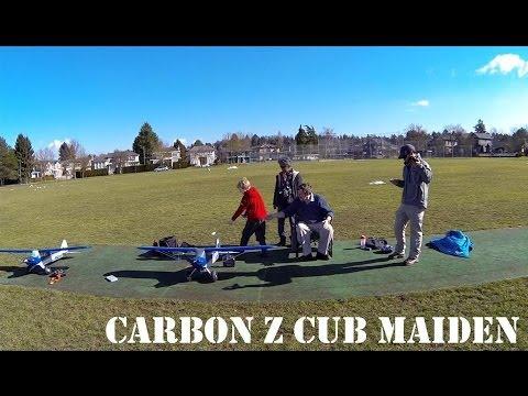 Terry's Carbon Z Cub Maiden flight - UCArUHW6JejplPvXW39ua-hQ