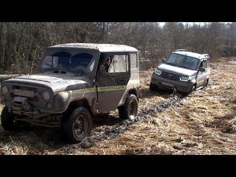 Поездка по весенней грязи на УАЗах и Chevrolet Niva - default