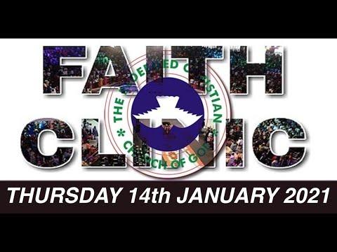 RCCG JANUARY 14th 2021 FAITH CLINIC