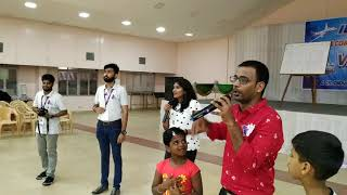 Signing off and thanking at the end of corporate family outing Chennai Event Emcees