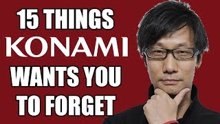 15 Things Konami Wants You To Forget