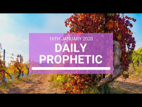 Daily Prophetic 16 January 3 of 4