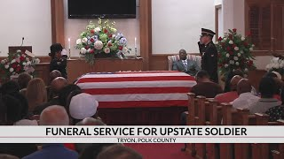 Upstate soldier laid to rest with full military honors