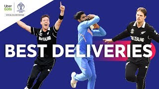 UberEats Best Deliveries of the Day | India v New Zealand | ICC Cricket World Cup 2019