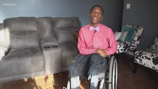 13-year-old Texas athlete left paralyzed now advocates for children's healthcare
