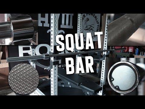 Rogue Squat Bar Overview - Boneyard Edition - UCNfwT9xv00lNZ7P6J6YhjrQ