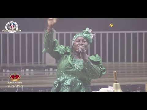 Mrs. Evang. Tolu Adelegan Ministration in songs DURING ERIO2021