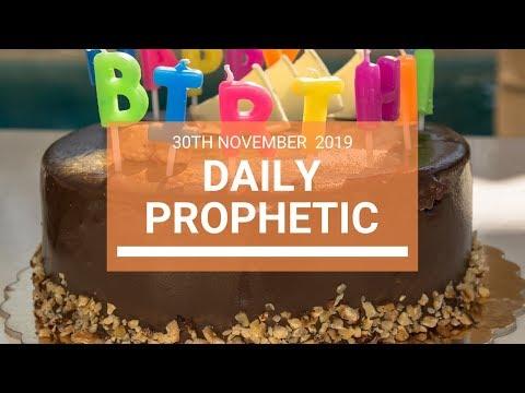 Daily Prophetic 30 November Word 7