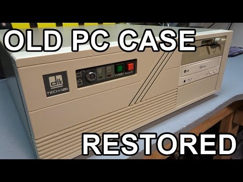 Restoring an old AT computer case - UCE5dIscvDxrb7CD5uiJJOiw