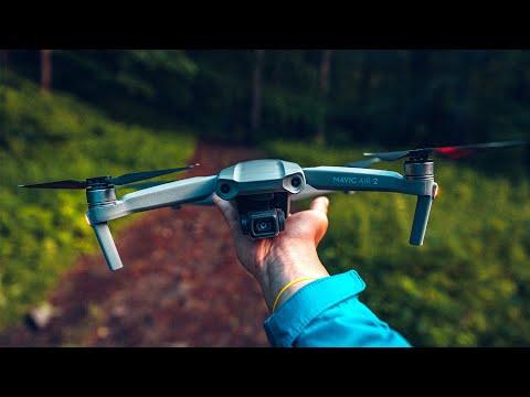 Videorecenze DJI kvadrokoptéra Mavic Air 2