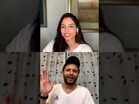 Shahid Afridi Talking About Famous Two Sixes Against Ravi Ashwin