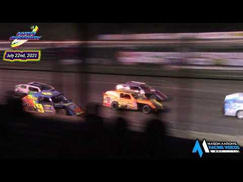 KRA Speedway WISSOTA Mod-4 A-Main (7/22/21) - dirt track racing video image