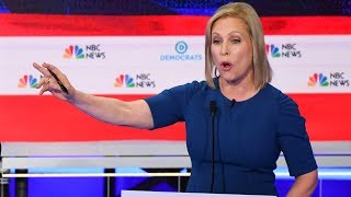 Kirsten Gillibrand Talks Corruption, Money in Politics at Dem Debate