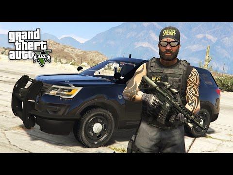 GTA 5 PLAY AS A COP MOD - BAD COP POLICE PATROL!! (GTA 5 Mods Gameplay) - UC2wKfjlioOCLP4xQMOWNcgg