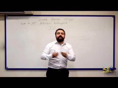 """تعلم اللغة التركية مع الأستاذ ابراهيم اسكي اوجاك """"الحلقة التاسعة"""""""