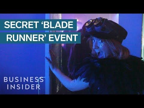 We Went Inside A Secret, Immersive Blade Runner Event - UCcyq283he07B7_KUX07mmtA