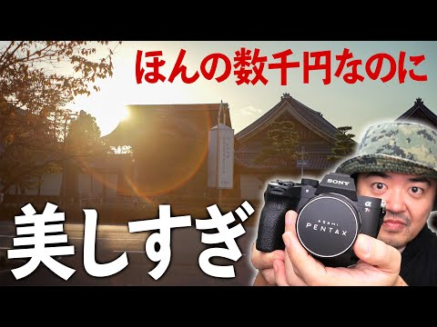 美しすぎる安レンズ Super Takumar 55mm F1.8 ほんの数千円で買えるスーパータクマーをフルサイズミラーレスとテックアートLM-EA7で瞳AF対応しちゃったから見て