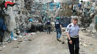 Traffico Illecito di rifiuti connesso agli incendi: i Carabinieri del NOE