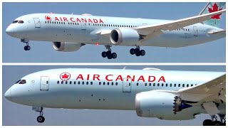 [4K] AIR CANADA BOEING 787-9 DREAMLINER LAX ARRIVAL - PLANE SPOTTING - AUGUST 2019