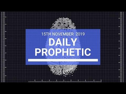Daily Prophetic 15 November Word 2