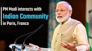 PM Modi addresses Indian Community at UNESCO Headquarters in Paris, France | PMO