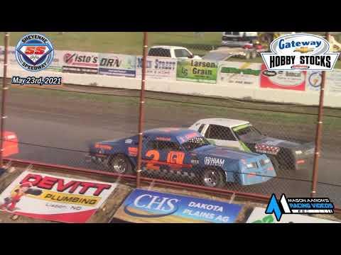 Sheyenne Speedway Hobby Stock A-Main (5/23/21) - dirt track racing video image