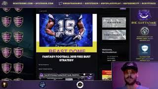 BEAST the ODDS Friday  - Kyler Murray Melvin Gordon Carlos Hyde Fantasy Football