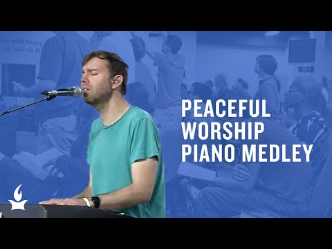 Peaceful Worship Piano Medley by Jon Thurlow -- The Prayer Room Live Moment