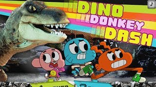 The Amazing World of Gumball - Dino Donkey Dash [Cartoon Network Games]