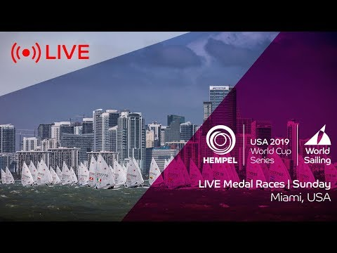LIVE | Medal Races | Hempel World Cup Series Miami 2019 | Sunday 3 February