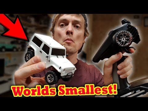 Worlds Smallest 4x4 Scale RC Crawler Car - UCH2_Jj8m4Zbe26UMlGG_LVA